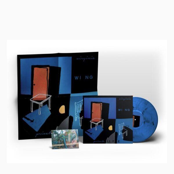 virginia wing blue vinyl